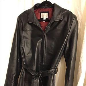 Leather Jacket Worthington Size XL